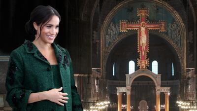 El  bebé de Meghan Markle estará presente en la misa de Pascua de la familia real (aunque no aparezca)