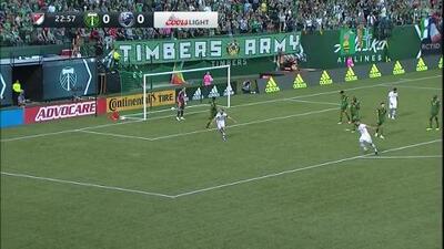 Con imparable derechazo el francés Saphir Taïder abre el marcador, Portland 0-1 Montreal