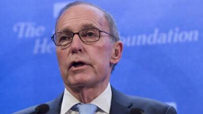 Larry Kudlow, un comentarista de TV, será el nuevo asesor económico principal de la Casa Blanca