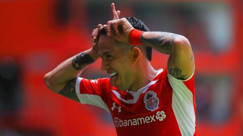 Todos los goles de la paliza 5-1 de Toluca sobre Monterrey