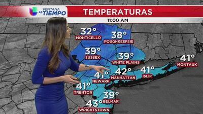 La primavera no se siente en Nueva York: se esperan bajas temperaturas para la noche de este martes