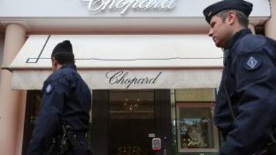 Disparos y un millonario robo en festival de Cannes