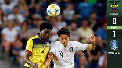 Corea vence a Ecuador y es finalista del Mundial Sub-20