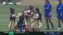 ¡Gol de las Águilas! Janelly Farías anota el 2-0 para América
