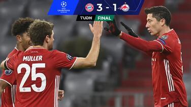 Bayern Múnich vence al Salzburg con gol histórico de Lewandowski