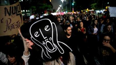 71 ataques de odio en 10 días: el discurso extremista de Bolsonaro se materializa en las calles de Brasil