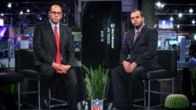 #SBalMÁXIMO en vivo desde el Media Center del Super Bowl XLIX