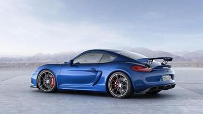 Porsche develó el Cayman GT4