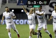¡Santos es finalista! Elimina a Boca y se enfrentará al Palmeiras