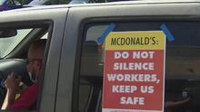 """""""Primero la seguridad"""": empleados de McDonald's exigen garantías para evitar el contagio con coronavirus"""