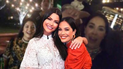 Karla Martínez celebró a su cuñada Ana Patricia en familia y con mariachi