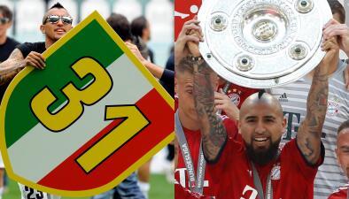 El record que Arturo Vidal puede presumir ante el propio Cristiano con su legado campeón
