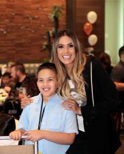Galilea Montijo convivió con niños del Teletón USA 2018 antes del show