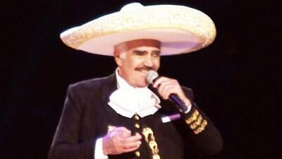 Vicente Fernández está de aniversario