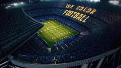 We Color Football: así será el mosaico para el Clásico en el Camp Nou