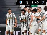 Debuta Juventus con una goleada sobre la Sampdoria