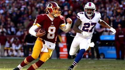 Redskins 35-25 Bills: Washington sigue en pie y Buffalo se pierde los playoffs