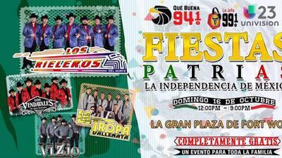 Festeja la independencia de México con tus amigos de la Qué Buena 94.1