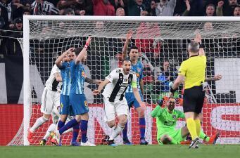 La polémica por el gol anulado a Juventus contra Atlético de Madrid en Octavos de Champions