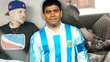 Con un video íntimo, Residente presume ese 'lado' de Maradona que no todos conocían