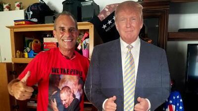 La calificación del presidente Trump según los trumpistas más leales: Una A+++