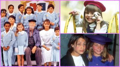 ¿Quién podría olvidar 'Carrusel', 'Carita de ángel' y otras entrañables telenovelas infantiles? Recordar es volver a vivir...