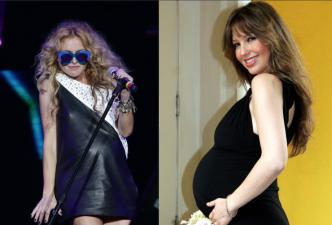Famosas que debutaron como madres después de los 40