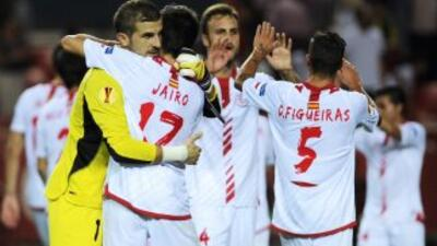 Sevilla gana al Frigurgo y se afianza como líder del grupo en la Liga Europa