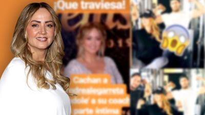Andrea Legarreta desmiente a revista por supuesta foto comprometedora y ellos le piden perdón