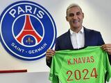 PSG renueva el contrato de Keylor Navas un año más hasta el 2024