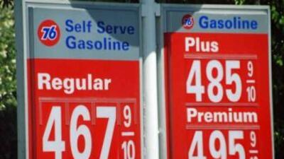 Gasolina subió siete centavos