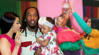 Con todo y apagón, Cardi B celebró el cumpleaños de su hija Kulture con una fiesta de casi medio millón dólares