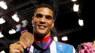 Golden Boy Promotions firmó a Anthony Ogogo, medallista Oímpico en Londres