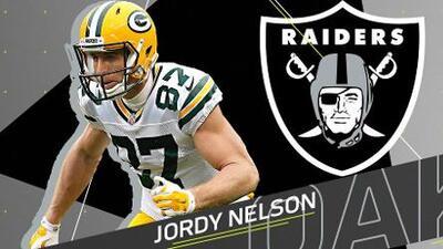 Jordy Nelson se convierte en nuevo jugador de los Raiders