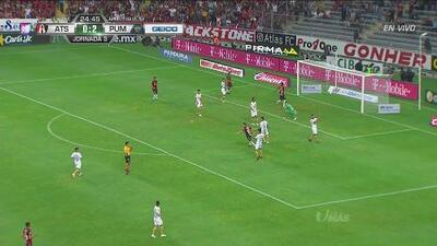 ¡Atlas no lo puede creer! Gol anulado por mano de Brayan Garnica