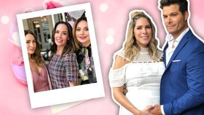 Geraldine Bazán y Elizabeth Álvarez, entre las invitadas al baby shower del nieto de Arturo Peniche