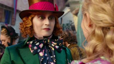 'Alice Through The Looking Glass': el Sombrerero joven