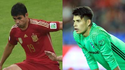 Jesse González y otros futbolistas que hicieron parte de dos selecciones de fútbol