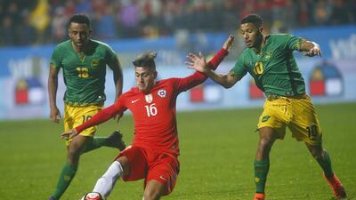 Jamaica sorprende a Chile previo a la Copa América Centenario