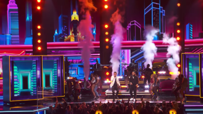 "Luis Fonsi and Daddy Yankee's performed ""Despacito"" at GRAMMY's"