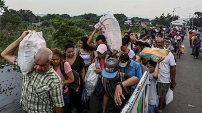 Más de cuatro millones de venezolanos han huido del país desde 2015, según Naciones Unidas