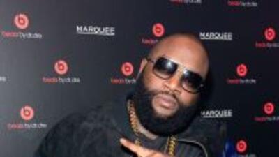 Rapero Rick Ross fue arrestado tras ofrecer un concierto