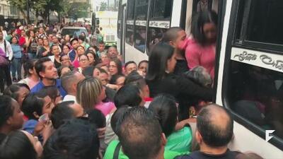 Blackout chaos in Venezuela