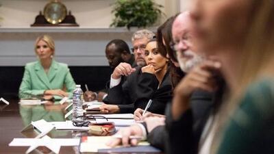Kim Kardashian regresa a la Casa Blanca a interceder por la liberación de otro preso