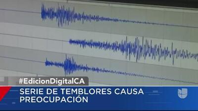Geólogos afirman que no hay alarma por los cientos de pequeños terremotos que han sacudido el sur de California