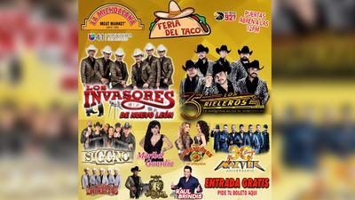 Feria del Taco October 6, 2019