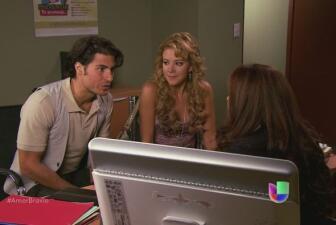 Natalia descubre a Dionisio