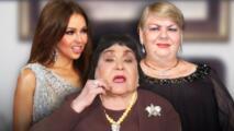 """Thalía quiso arrancar """"los pelos"""" del lunar a Paquita la del Barrio, según Carmen Salinas"""