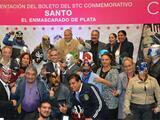 """""""El Santo"""" viajará en el Metro de la Ciudad de México gracias a un boleto conmemorativo"""