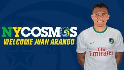 El venezolano Juan Arango ficha por el New York Cosmos